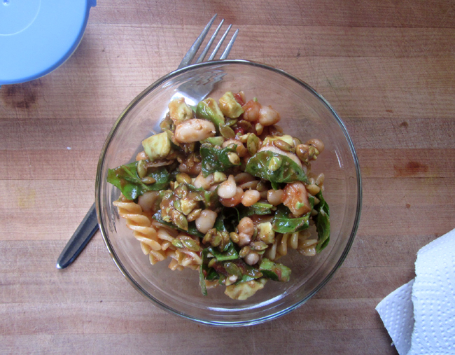 Keen Bean Pasta Salad for One