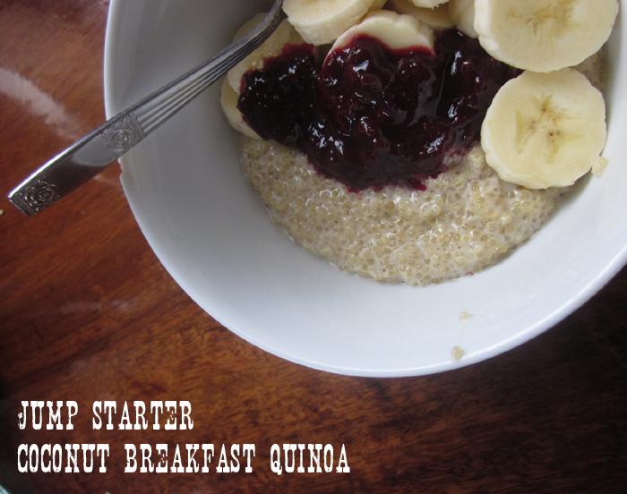 Jump starter Coconut Breakfast Quinoa