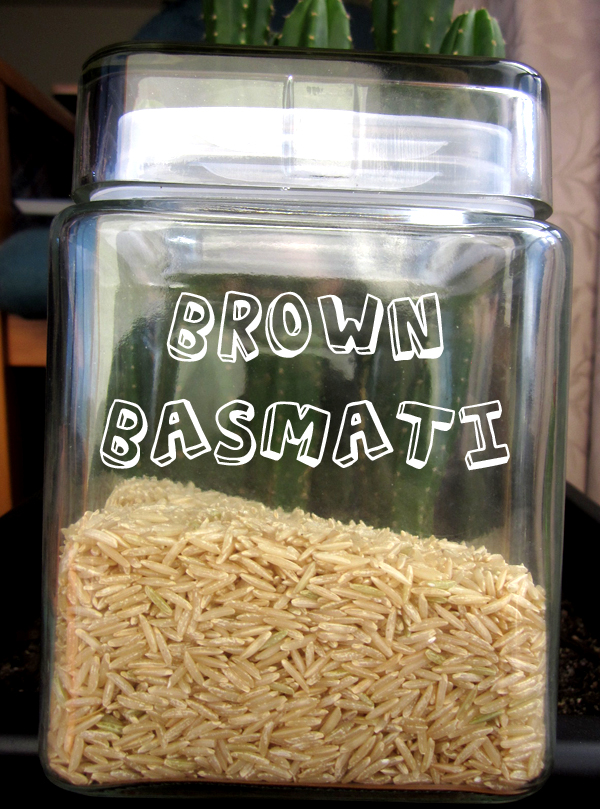 Brown Basmati @ Kitchen Rebellion