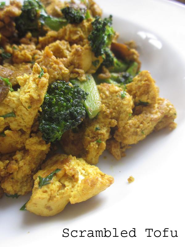 Scrambled Tofu @ Kitchen Rebellion