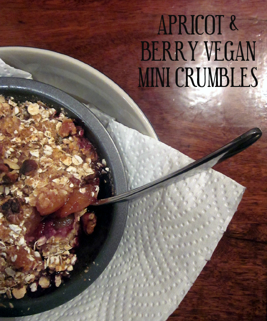 Kitchen Rebellion Apricot Berry Vegan Crumble