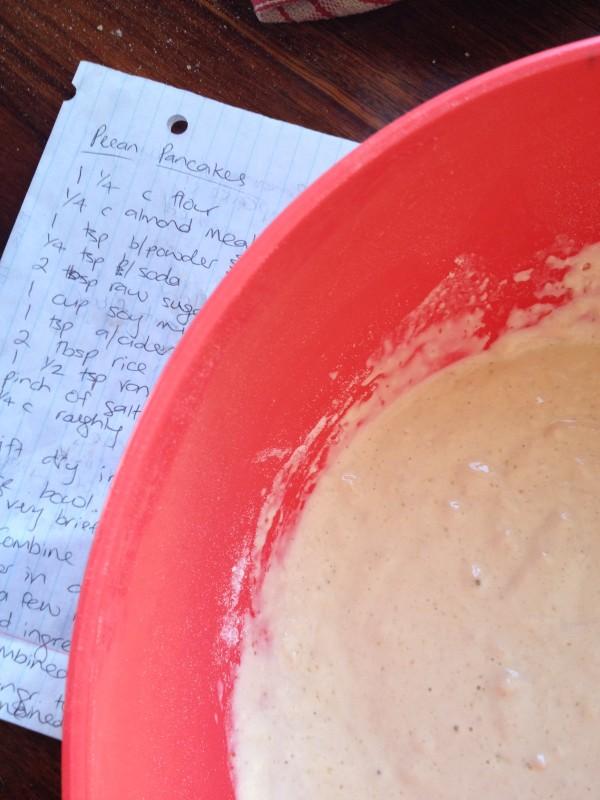 Vegan Pecan Pancake Batter