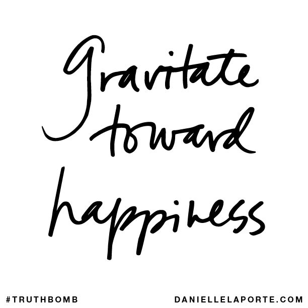 Danielle La Porte - Gravitate Towards Happiness - Kitchen Rebellion