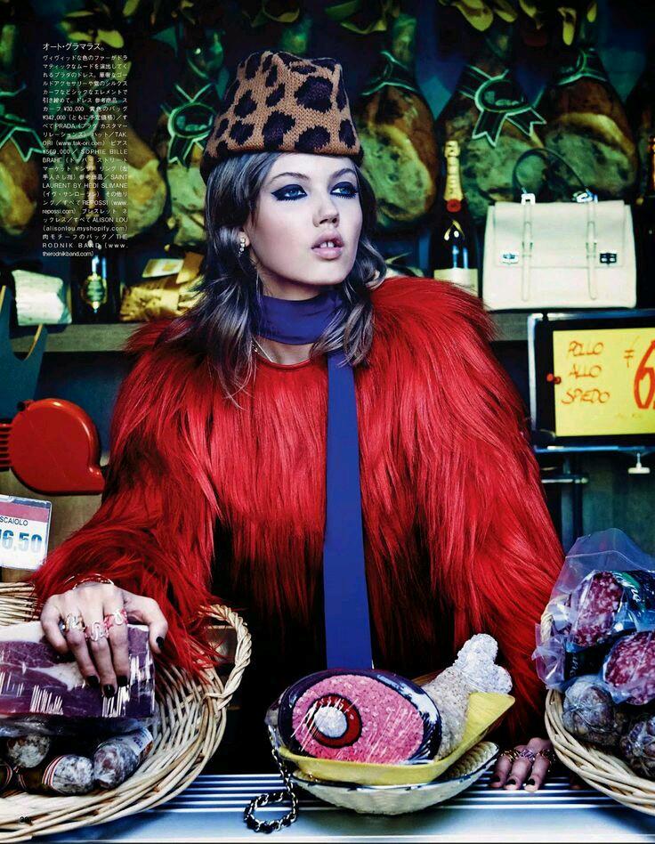Lindsey Wixon for Vogue / Pita Pizzas with vegan basil pesto and diy pizza sauce
