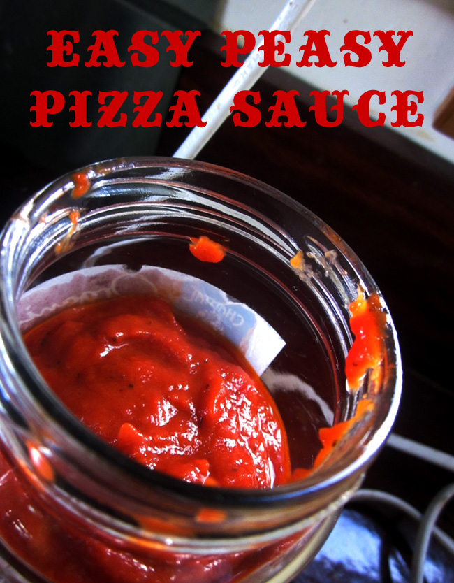 KR Easy Peasy Pizza Sauce (Vegan, Gluten Free)