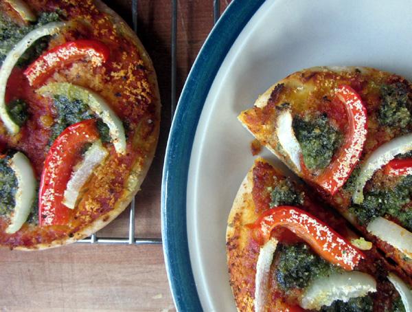 KR PIta PIzza Vegan Pesto Gluten Free Pizza Sauce